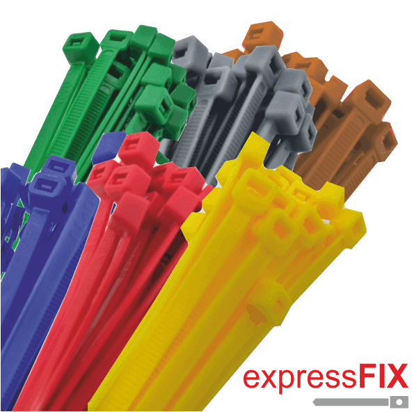 95c7702389c2 Express Electrical - Nylon Cable Ties Coloured